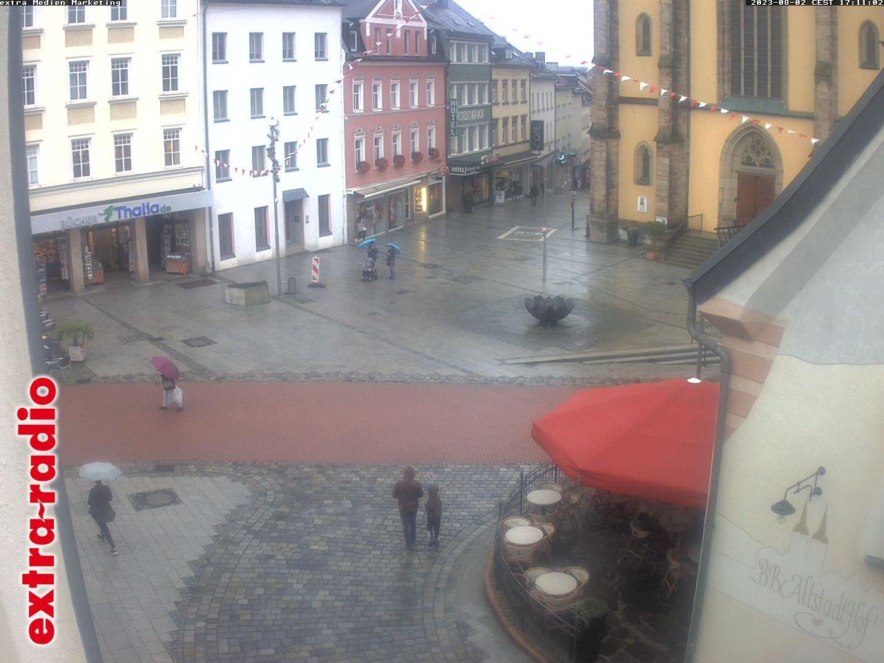 Webcam aus der Hofer Altstadt